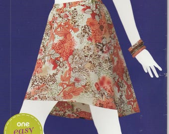 Easy Skirt Pattern Pull-on Misses Size 6 - 24 XS - XL  uncut Simplicity 1525