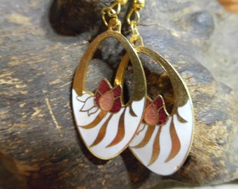 Beautiful handmade dangle earrings.