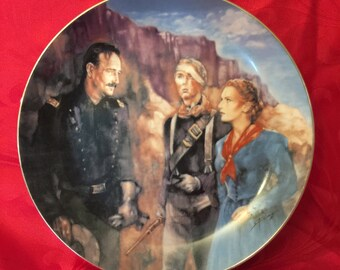 Collector Plate, John Wayne Collector Plate, Rio Grande Collector Plate, Cinema Classics