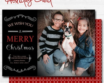 Modern Christmas Card 2015