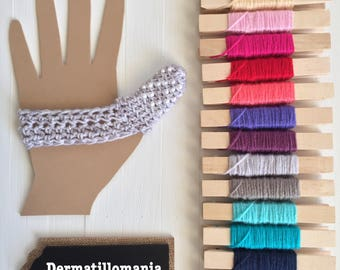 Dermatillomania Help - Thumb Cover - Excoriation Disorder - Finger Fidget Cover - Finger Guard - Finger Bandage