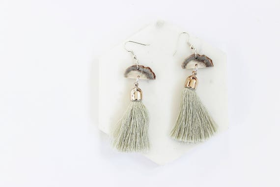 Antler & Bohemian Tassel Earrings III