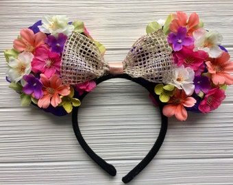 Floral Mouse Ears