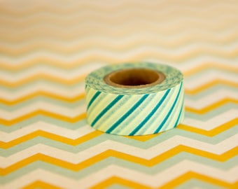 Masking tape/washi tape vert Masté MT 15mm x 7m