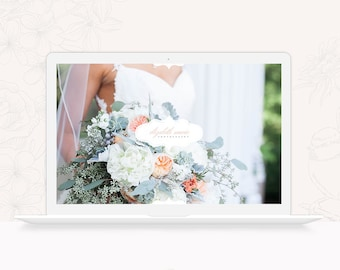 Wedding Photography ProPhoto 6 Design - Elegant ProPhoto 6 Theme - ProPhoto 6 Website Design Template for Photographers - INSTANT DOWNLOAD