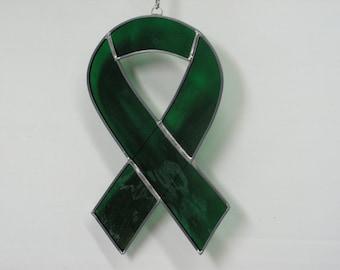 Green Awarness ribbon