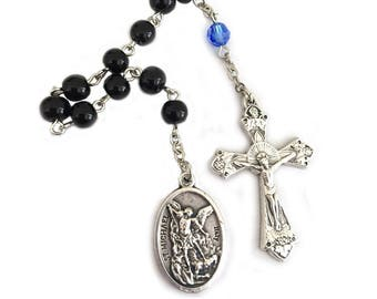 St Michael Chaplet Prayer Beads Police Officer Gifts