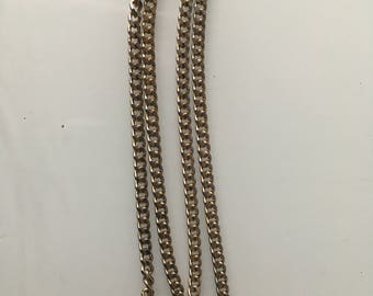 T-Bar Watch Chain Necklace