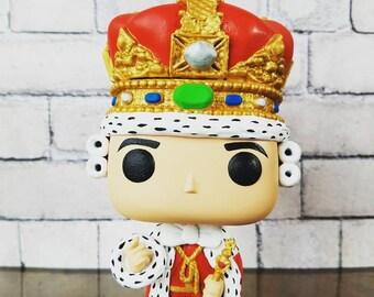 King George III (Hamilton) - Custom Funko POP Figure
