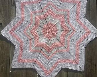 8 Point Star Baby Blanket