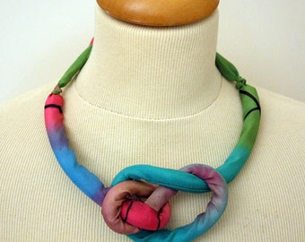 Silk Necklace