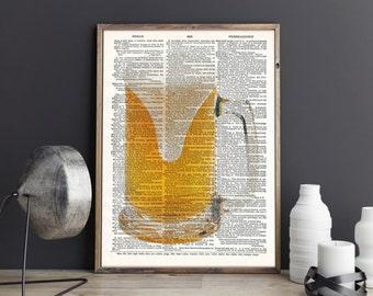 Beer Mug Print, Beer Art, Beer Mug Poster, Beer, Art Print, Wall Decor, Wall art, Art Print Instant Download, Printable art, Gift for him
