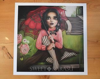 FINE ART PRINT- Sophia- Beautiful gothic art print
