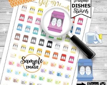 Cleaning Stickers, Cleaning Planner Stickers, House Stickers, Chore Stickers, To Clean Stickers