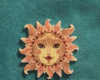 Sun Acrylic Needle Minder