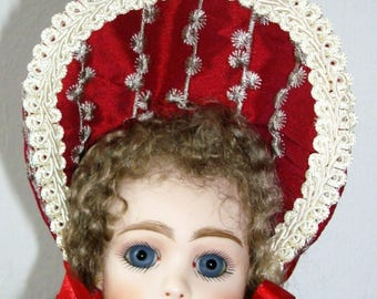 FRENCH JUMEAU CODY (Long Face)   Antique Reproduction 33cm Cabinet doll