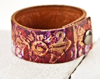 Leather Jewelry Cuffs Bracelets Women's Wristbands Wrist Cuffs
