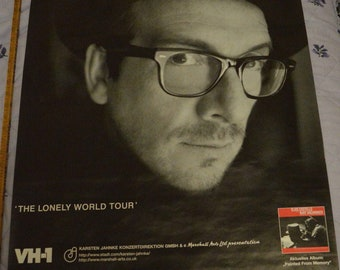 Elvis Costello and Steve Nieve In Concert -- Lonely World Tour German