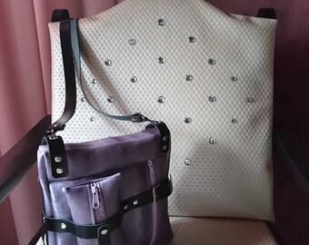 Failed in purple Felloptik shoulder bag