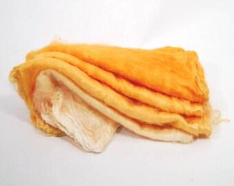 Mawatas Silk Hankies Orange Ombre - 39 grams