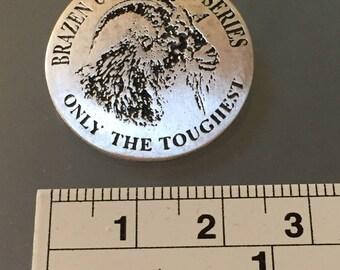 Necklace: Brazen Ultra Half Series Sterling Silver Necklace