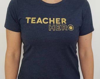 Teacher Hero -- T-Shirt