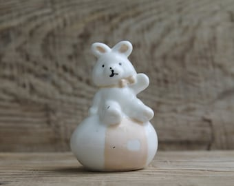 Vintage Europe  Figurine ... porcelain teddy-bear
