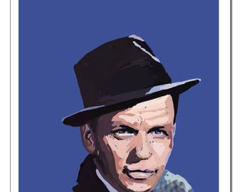 Frank Sinatra-Pop Art Print