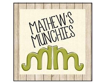 Mathew's Munchies Custom Request
