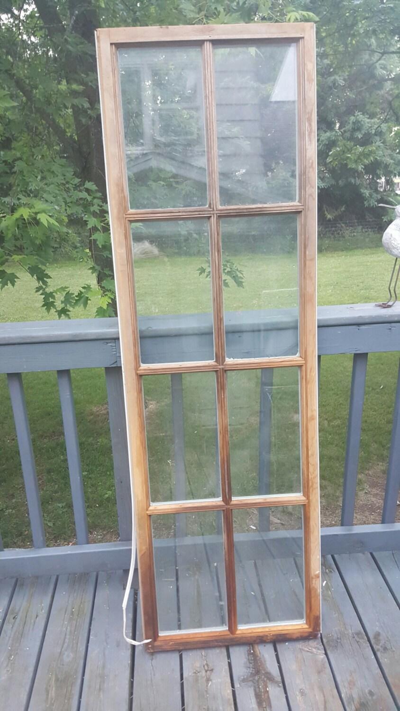 Vintage antiguo marco de ventana, panel 8, vieja ventana reciclada ...
