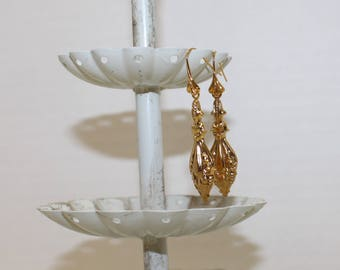 Victorian-Style Earrings, Gold-Filled Earwires, Civil War & Victorian Appropriate - Affordable Elegance
