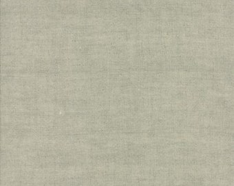 """3 Sisters for Moda  Paris Flea Market Linens in Flax 48"""" Wide 40 Linen 60 Cotton Light Upholstery, Quilt or Craft Fabric # 930L-160"""