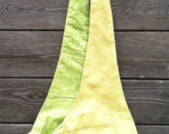Dog sling in light green