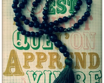 Bohemian necklace {live}