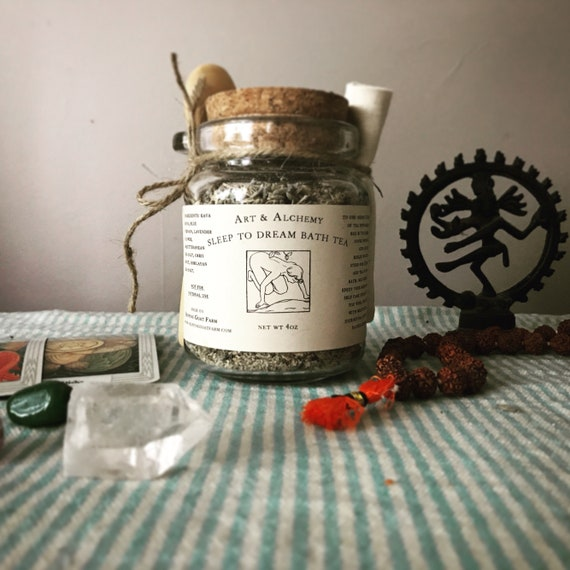 Sleep To Dream bath tea for divination relaxation and dream work
