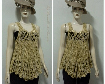Boho Crochet Women Lace Blouse