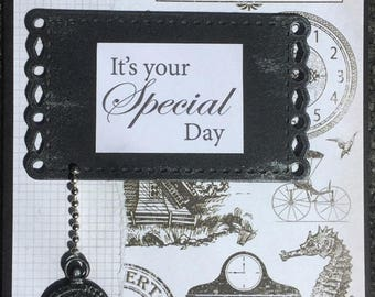 Handcrafted Card - It's Your Special Day