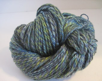 Spring Fields Handspun 3 ply Wool and Tencil Yarn