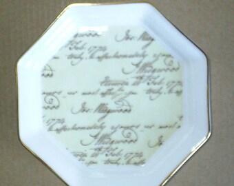 Wedgwood Bicentenary Celebration Octagonal Tray Boxed