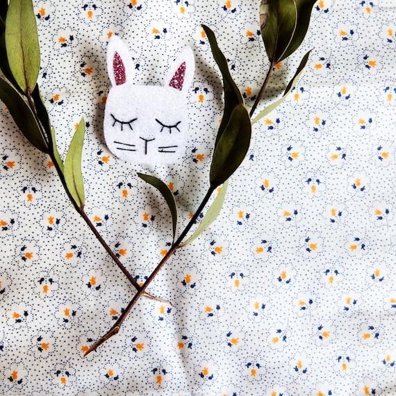 Baby Rabbit - rabbit - brooch - tender Cactus - Handmade - La Rochelle
