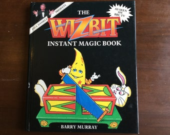Vintage the wizbit instant magic book dated 1988