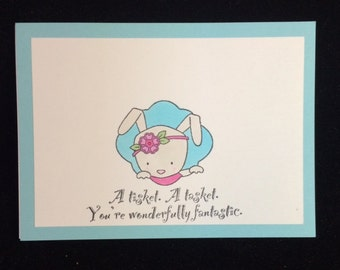 A Tisket. A Tasket You're Wonderfully Fantastic Greeting Card