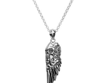 Wings of Death Pendant Necklace