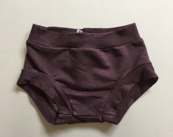 Mauve Bummie, Bloomers, shorties, diaper cover