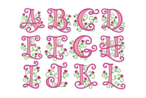 Coupon Codes Cute Alphabet Applique Machine Embroidery Design