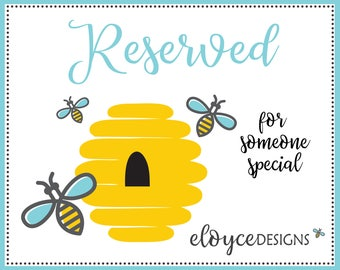 Reserved for Special Request Orders