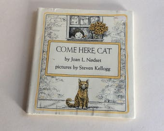 Vintage Book, Come Here, Cat