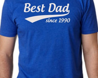 Awesome dad this is what an dad looks like mens t shirt shirt for Custom t shirts one day delivery