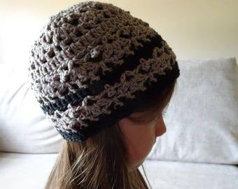 Girls crochet hat, cotton