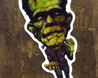 Frankenstein Vinyl Sticker
